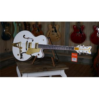 Gretsch G6136T Players Edition White Falcon Bigsby semi-akoestische gitaar