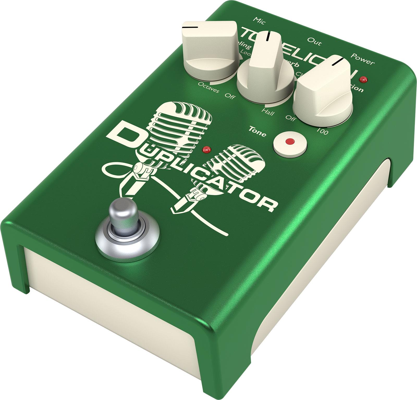 TC Helicon Duplicator zang-effectpedaal