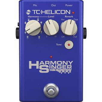 TC-Helicon Harmony Singer 2 pitch shifter/octaver/harmonizer pedaal