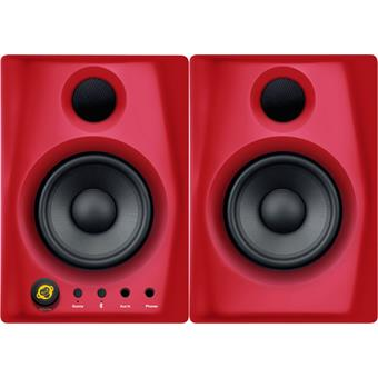 Monkey Banana Gibbon AIR Red Pair desktop studio monitor