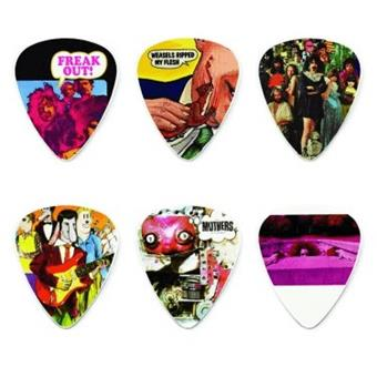 Dunlop Frank Zappa Yellow Pick Tin 6-Pack Signature Plektrum
