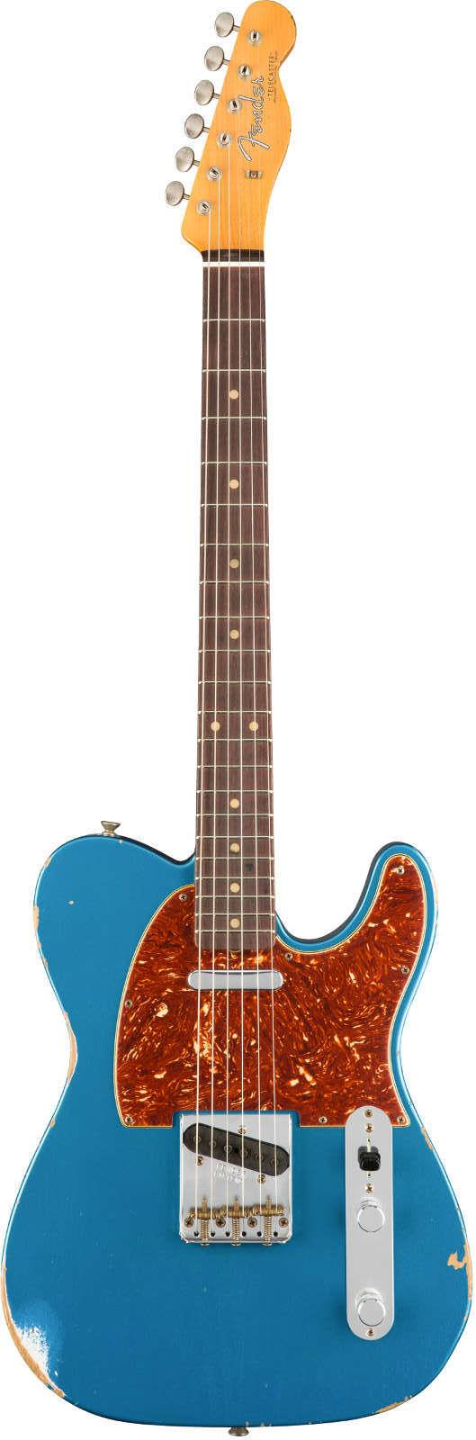 fender custom shop 1961 relic telecaster rw aged lake placid blue keymusic. Black Bedroom Furniture Sets. Home Design Ideas