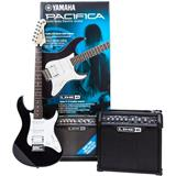 Yamaha Pacifica 012 Black & Spider IV 15 Pack