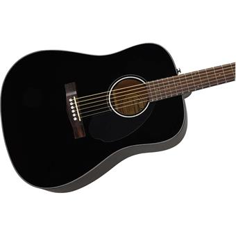 Fender CD-60S Black westerngitaar