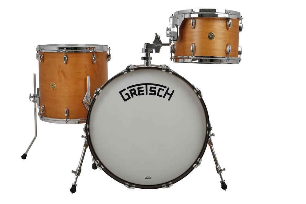 Image of Gretsch Drums Broadkaster BK-RC423 Satin Maple 0000000000000