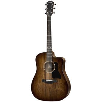 Taylor 220ce-K DLX acoustic-electric cutaway dreadnought guitar