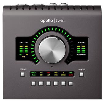 Universal Audio Apollo Twin Duo MKII Thunderbolt audio-interface