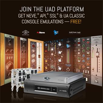 Universal Audio UAD-2 Satellite USB Quad Custom interface audio USB