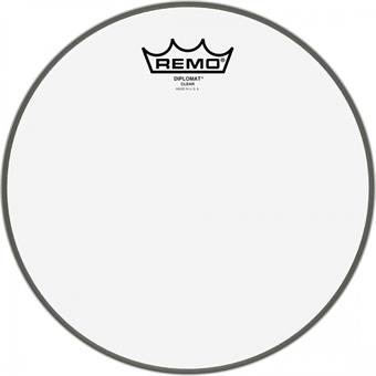 "Remo BD-0306-00 Diplomat Clear 6"" Tomfell"