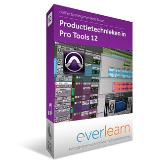 Everlearn Production Techniques in ProTools 12 Download lesmethode voor studio/recording
