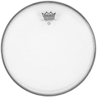 Remo BA031200 Clear Ambassador Batter Head 12 Inch tom head