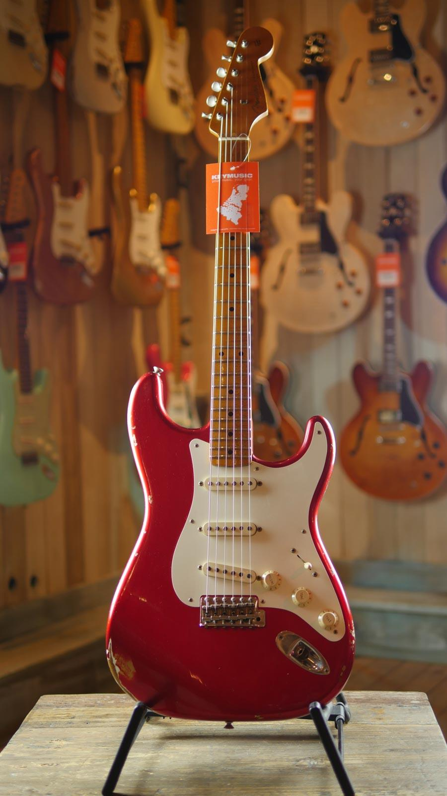 Fender Custom Shop '57 Stratocaster Relic Candy Apple Red ...