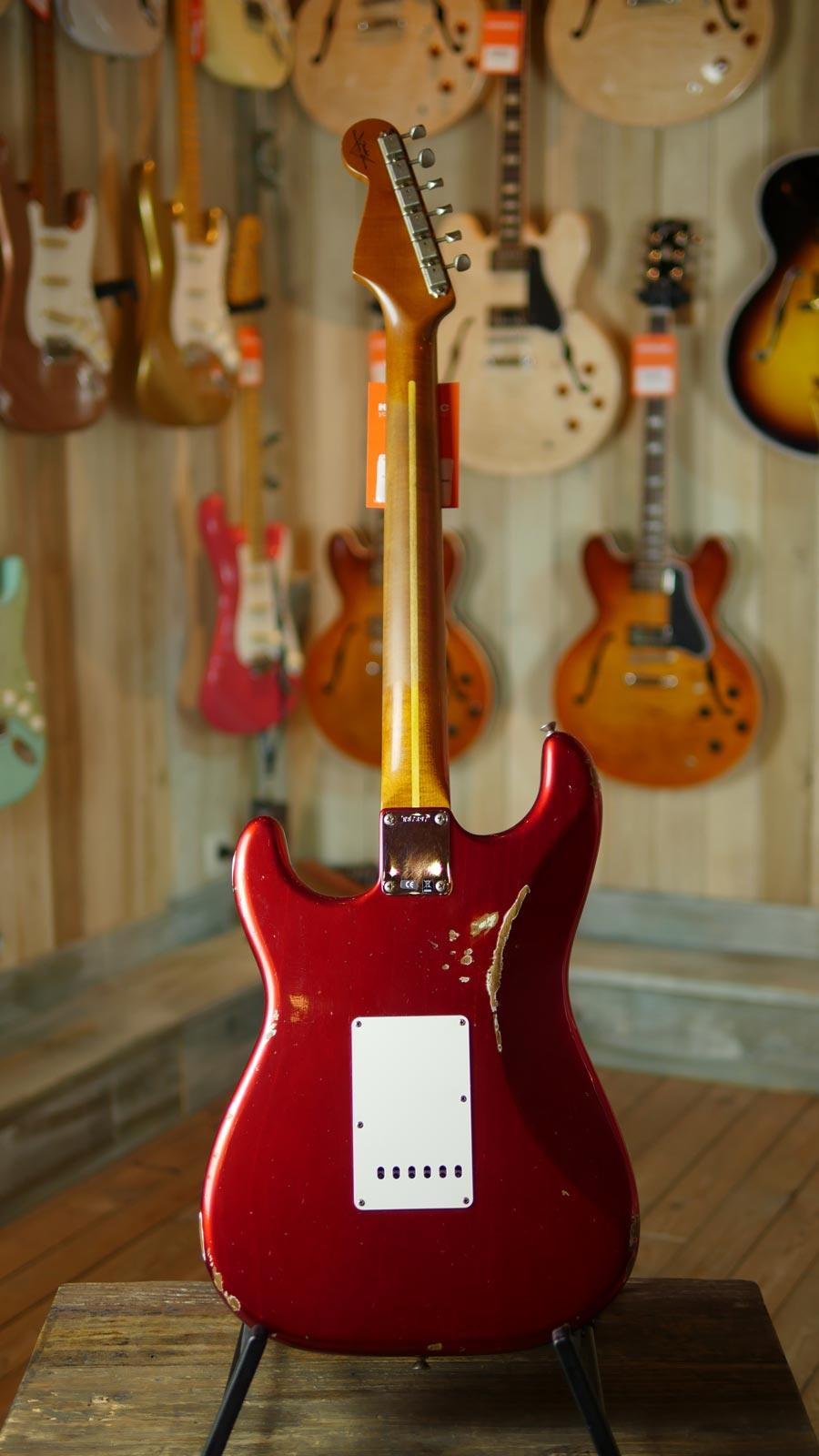 Fender Custom Shop 57 Stratocaster Relic Candy Apple Red