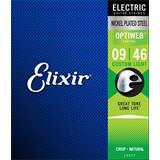Elixir 19027 Electric NPS Optiweb Custom Light 9-46