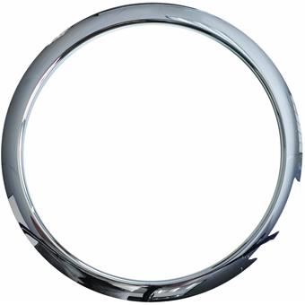 "BassDrum O's 6"" Chrome Drum O's accessory for drum head"