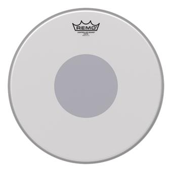 "Remo CS-0113-10 Controlled Sound® Coated Black Bottom Dot 13"" snaredrumvel"