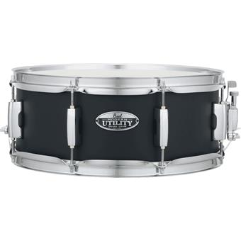 "Pearl MUS1455M/234 Modern Utility 14""x5.5"" Snare Black Ice maple snaredrum"