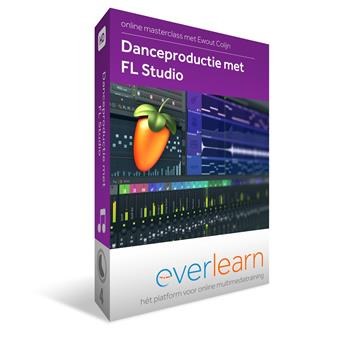 Everlearn Masterclass Dance Production with FL Studio méthode studio/enregistrement