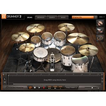 Toontrack EZdrummer 2 Download instrument virtuel/sampler