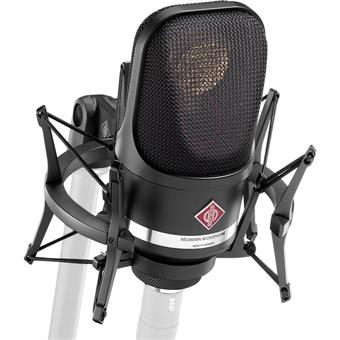 Neumann TLM 107 Studio Set Black large diaphragm microphone