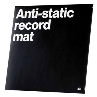 AM Clean Sound Anti-Static Record Mat DJ cleaning/maintenance