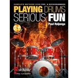 Hal Leonard Playing Drums Serious Fun (NL)