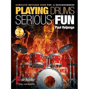 Hal Leonard Playing Drums Serious Fun (NL) Schule für Drum/Percussion