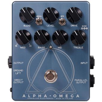Darkglass Electronics Alpha Omega basse pédale distortion/fuzz/overdrive