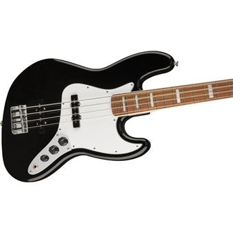 Fender '70s Jazz Bass PF Black 4 string bass guitar