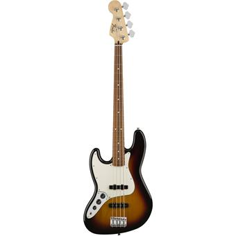 Fender Standard Jazz Bass PF Brown Sunburst Left-Hand basse gaucher