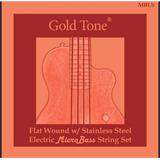 Gold Tone MBLS MicroBass LaBella Flat Wound Strings