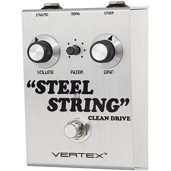 Vertex Steel String Clean Drive overdrive pedaal