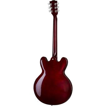 Gibson 2018 ES-335 Dot Wine Red guitare semi-acoustique