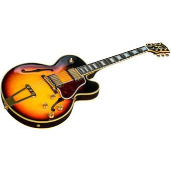 Gibson 2018 ES-275 Custom Sunset Burst guitare jazz