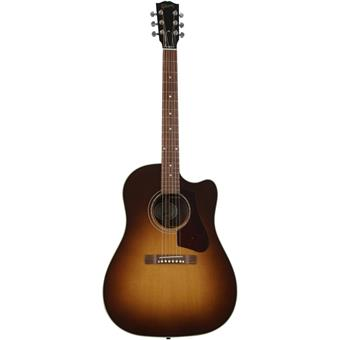 Gibson 2018 J-45 Walnut AG Walnut Burst dreadnought guitar