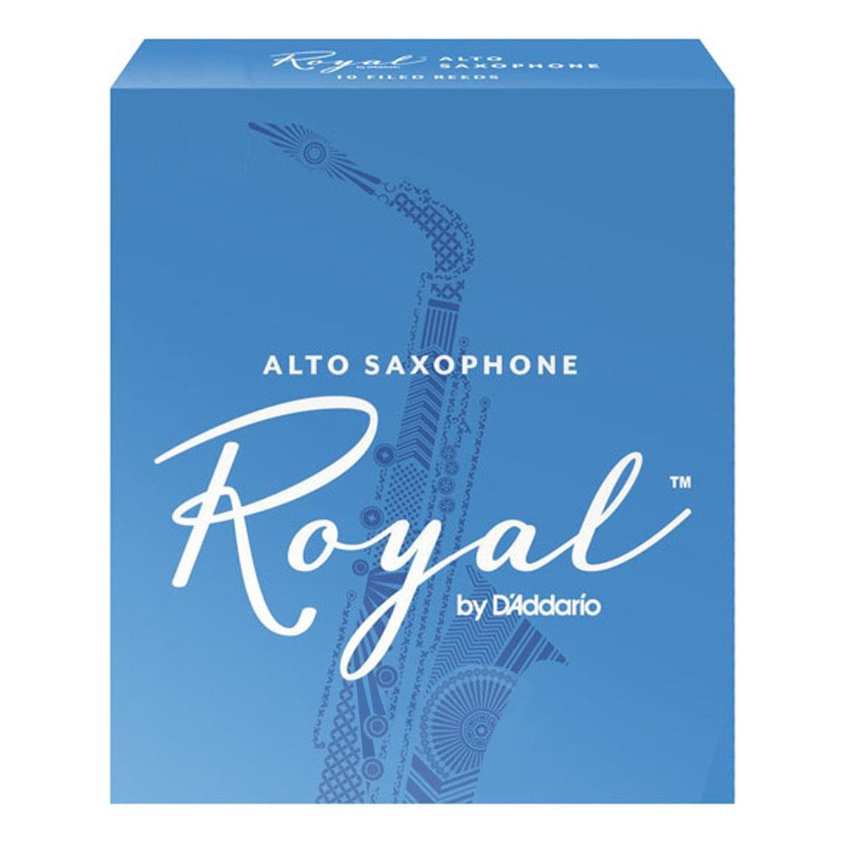Image of D'Addario Woodwind Royal RJB0330 Alto Sax Reeds Strength 3 3-pack 0046716575982