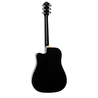 Morgan Guitars W104CE Black westerngitaar