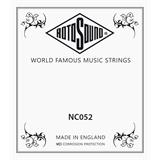 Rotosound NC052 - .052 Electric Guitar String, Nickel Wound