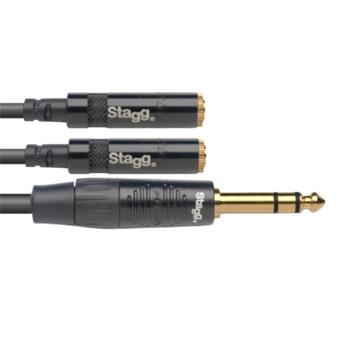 Stagg NYA010/PS2MJSR jack cable