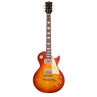 Gibson Custom Shop 1959 Les Paul Standard Washed Cherry Figured VOS E-Gitarre