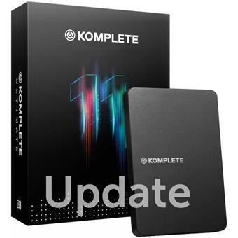 Native Instruments Komplete 11 Update from Komplete 2-10 sequencing software/virtuele studio