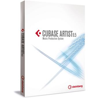 Steinberg Cubase Artist 9.5 sequencing software/virtuele studio