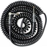 Bullet Cable Coil Black 9 Meter Straight Angle