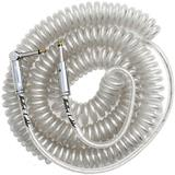 Bullet Cable Coil Clear 9 Meter Straight Angle