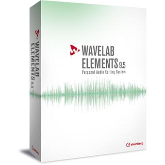 Steinberg Wavelab Elements 9.5 mastering/editor software