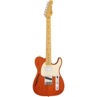 G&L Tribute ASAT Classic Bluesboy Semi-Hollow Clear Orange elektrische gitaar