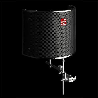 sE Electronics Reflexion Filter Pro Black écran acoustique/anti-pop