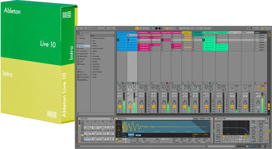 ableton live 10 intro keymusic. Black Bedroom Furniture Sets. Home Design Ideas