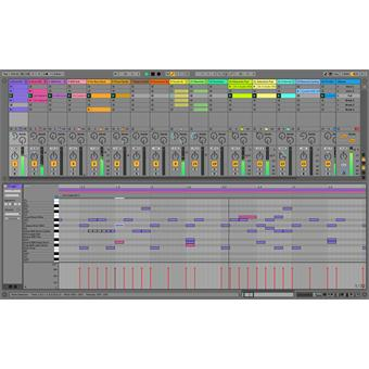 Ableton Live 10 Suite UPG from Live 1-9 Standard Download sequencing software/virtual studio