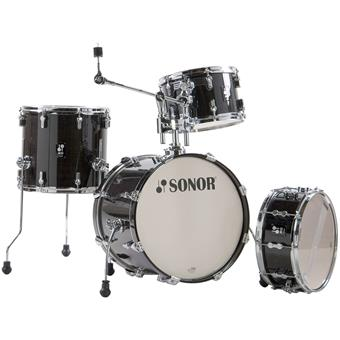 Sonor AQ2 Bop Set Transparent Stain Black jazz shell kit